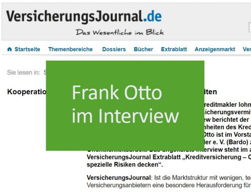 Interview im VersicherungsJournal